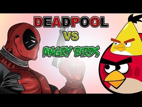 Deadpool VS Angry Birds
