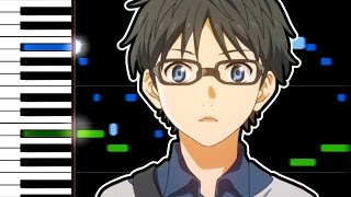 Video Your Lie in April OST - Again (Synthesia) MP3, 3GP, MP4, WEBM, AVI, FLV Juni 2018