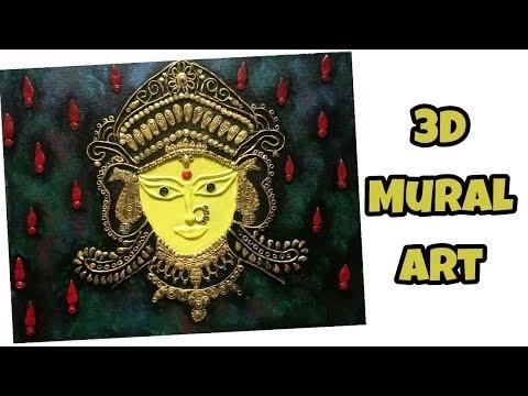 Mural art on Canvas using Shilpkar