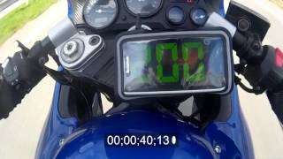 3. Suzuki Katana GSX-F 600 0-200 top speed