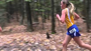 Boothbay Region High School Girls Cross Country Race