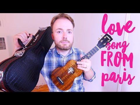 LOVE SONG FROM PARIS - JON COZART *PAINT* (EASY UKULELE TUTORIAL!)