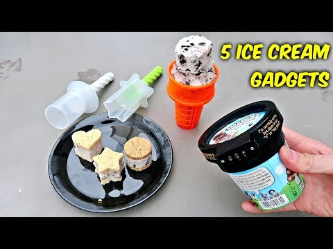 Download 5 Ice Cream Gadgets put to the Test HD Mp4 3GP Video and MP3