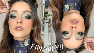 $$$ GREEN GLAM | Makeup Tutorial by Kathleen Lights