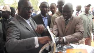 Le Président de la République M. Macky SALL bénit