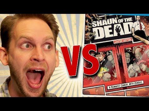 Shaun Of The Dead Limited Edition Steelbook Unboxing