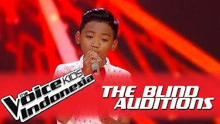 "Video Arya ""Aku Cuma Punya Hati"" I The Blind Auditions I The Voice Kids Indonesia GlobalTV 2016 MP3, 3GP, MP4, WEBM, AVI, FLV Februari 2019"