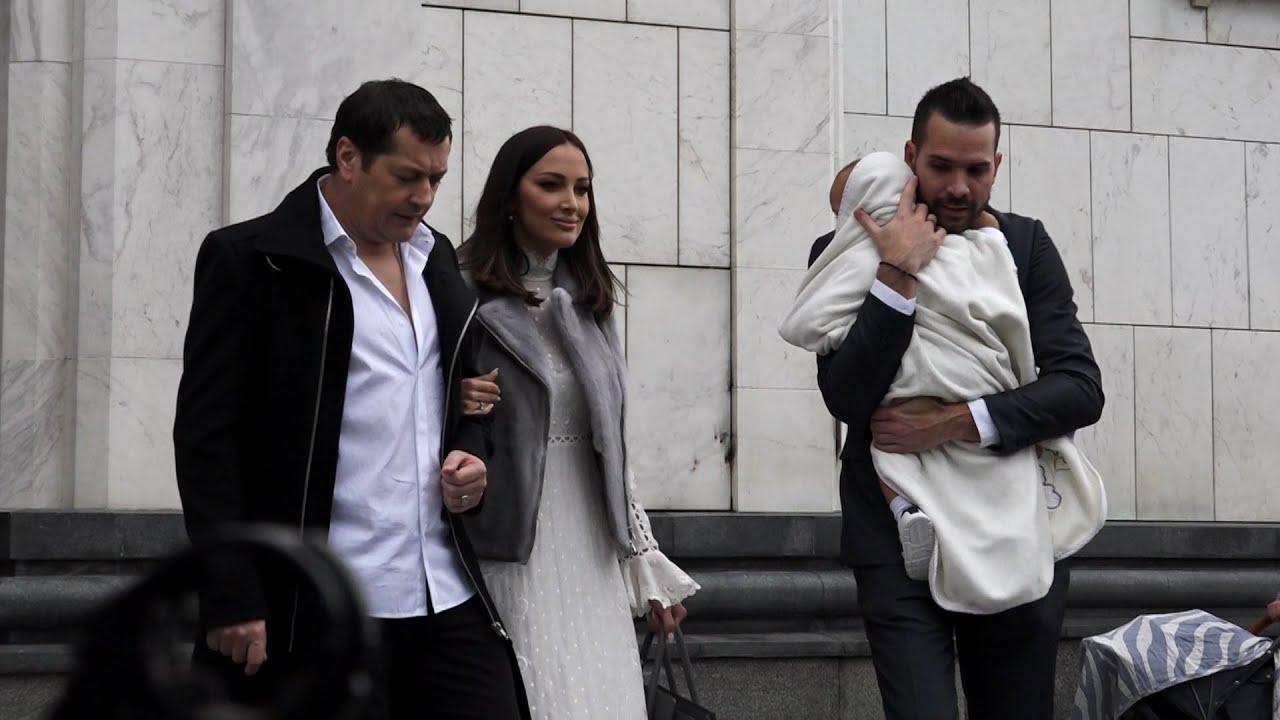 Aleksandra Prijović i Filip krstili sina