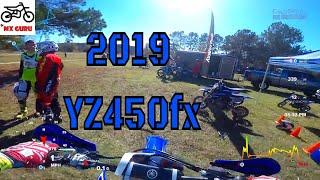 4. Test Riding the 2019 Yamaha YZ450FX w/ metrics! | GTR Complex | Yamaha Demo Day