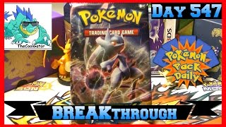Pokemon Pack Daily BREAKthrough Booster Opening Day 547 - Featuring TheCoolGator by ThePokeCapital