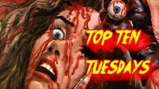 Top Ten Tuesdays Ep: 83- Italian Giallo Flicks