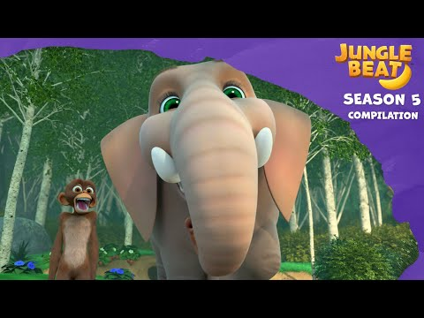 Jungle Beat Season 5 Compilation #2