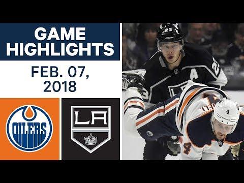 Video: NHL Game Highlights | Oilers vs. Kings - Feb. 7, 2018