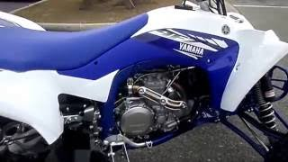 8. 2017 YAMAHA YFZ450R Team Yamaha Blue / White