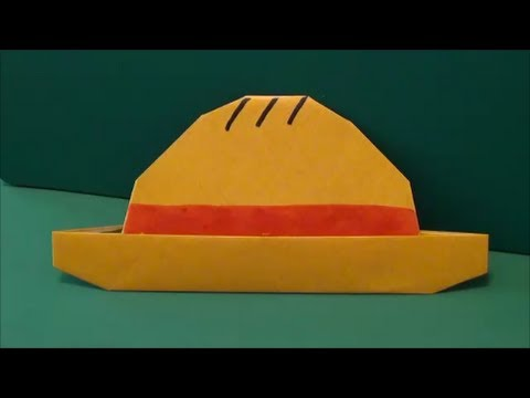 Hat Tutorial - 014 -- Straw Hat