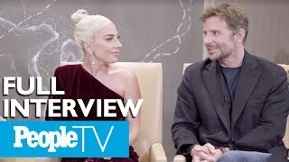 Bradley Cooper & Lady Gaga Dish On A 'Star Is Born,' Singing Together & More (FULL) | PeopleTV
