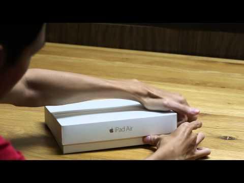 Đập hộp iPad mini 3 và iPad Air 2 chính hãng