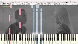 INSTADRAMA - LOBODA (Ноты и Видеоурок для фортепиано) (piano cover)