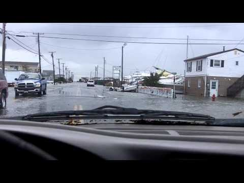 Balkster... Hurricane Sandy, South Green st. Tuckerton nj