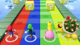 Super Mario Party - All Minigames (4 Players)