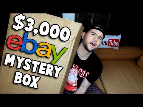 OPENING 3,000 EBAY MYSTERY BOX