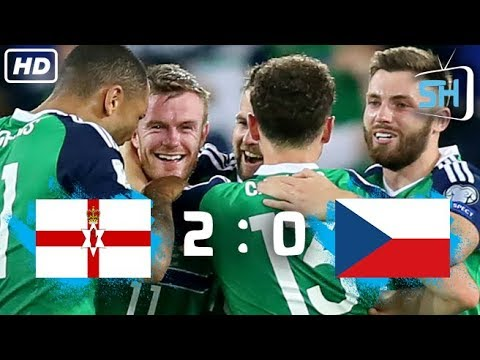 Northern Ireland vs Czech Republic 2-0 World Cup Qualifiers All Goals and Highlights Sep 4,2017