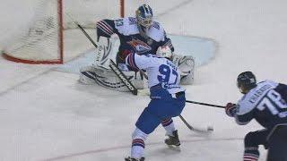 Koshechkin's back-to-back saves