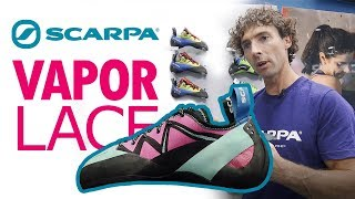 Scarpa Vapor Lace 2020 climbing shoes by WeighMyRack