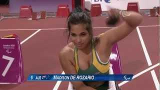 Video Athletics - Women's 100m - T53 Final - London 2012 Paralympic Games MP3, 3GP, MP4, WEBM, AVI, FLV Juni 2018