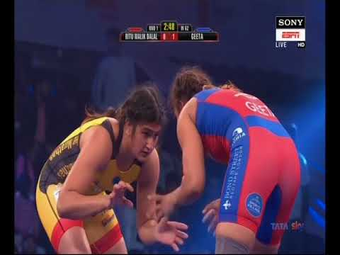 Ritu Malik VS Geeta Phogat