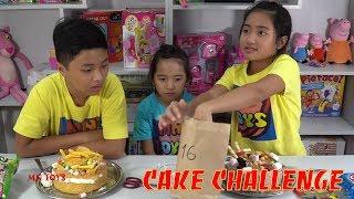 Đồ Ăn Bất Ngờ - Thách Chọn Số Trang Trí Bánh Kem  Cake Challenge MN Toys Xin chào tất cả mọi người! Hồng Anh và ĐẠi...