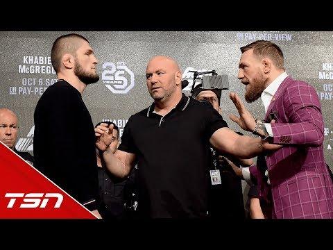 Best of McGregor vs. Khabib Press Conference (видео)