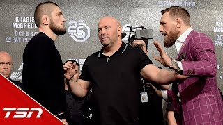 Video Best of McGregor vs. Khabib Press Conference MP3, 3GP, MP4, WEBM, AVI, FLV Oktober 2018