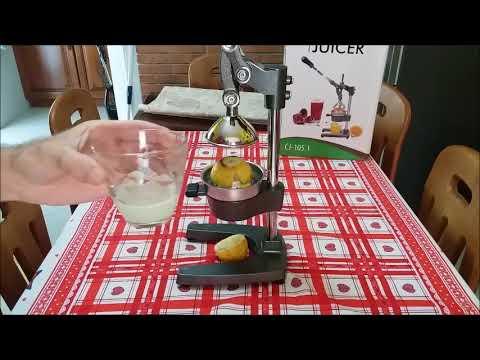 Workinghouse - Spremiagrumi manuale d Alta Qualità, Acciaio inox, Agrumi, Arance Original Juicer