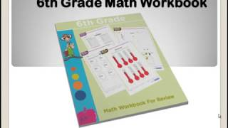 https://eworkbooks4kids.com/product-category/6th-grade-math/ - 6th grade math workbook  Pdf ebook download for children - This is a collection of math worksheets which cover skills studied in grade 6. Students can use this workbook to review while at home and in school. Each page has an answer key for all problems treated. Get a copy from the link above. Background sound source: bensound.com