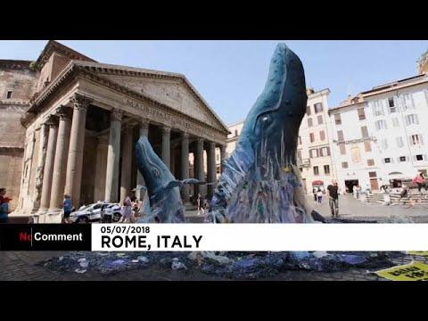 Μια φάλαινα στην Ρώμη