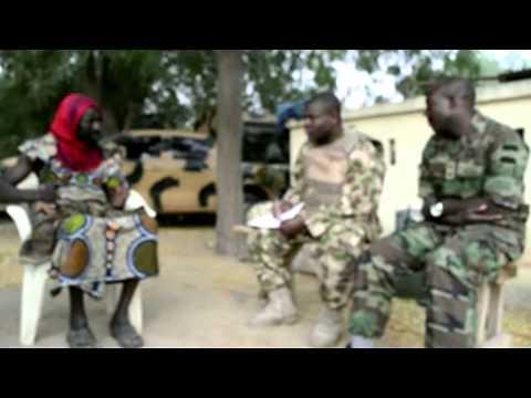 MNJTF Soldier Debriefing: Alleged Boko Haram Member Disguised As Woman Was A Nigerian Soldier