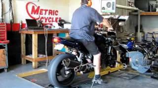 4. Yamaha FZ1 (2007) Dyno Run 150hp 08/29/09