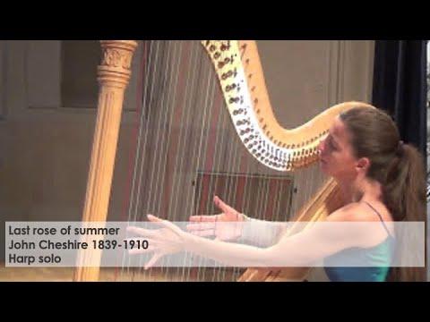 Last rose of summer-John Cheshire played by Silke Aichhorn-harp