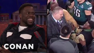 Video Kevin Hart's Drunken Mission To Hold The Super Bowl Trophy  - CONAN on TBS MP3, 3GP, MP4, WEBM, AVI, FLV Maret 2018