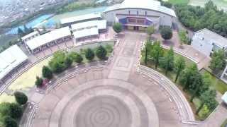 空撮 尚美学園大学川越キャンパス