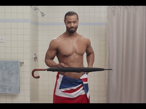 Old Spice 'man's man' brand ambassador arrives in the UK for 'Gentleman Hunt' social campaign video