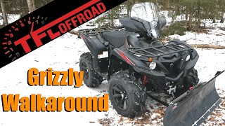 7. 2019 Yamaha Grizzly LE In Depth First Look: This ATV Doesn't Hibernate!