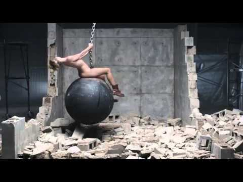 The Wrecking Ball Video Without Music