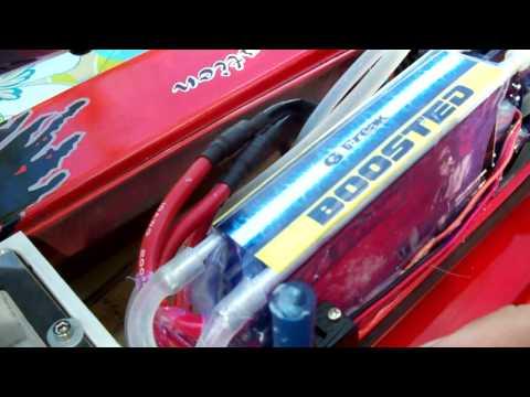 75 MPH+ BRUSHLESS DRAG RACE F1 CHAMPBOAT FORMULA 1 HV 10S LIPO