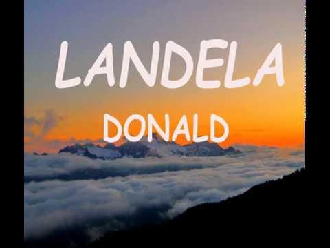 Donald - Landela (Lyrics)