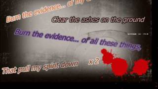 billy talent-burn the evidence with lyrics