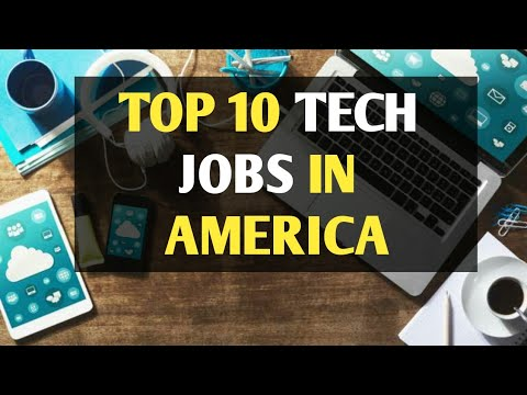 10 Best Paying Tech Jobs in US - 2018