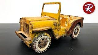 Video 1960s Tonka Jeep Restoration - Military Jeep GR2-2431 MP3, 3GP, MP4, WEBM, AVI, FLV Mei 2019