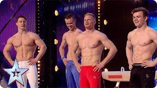 Video 4G have some serious six packs | Britain's Got More Talent 2016 MP3, 3GP, MP4, WEBM, AVI, FLV Mei 2018